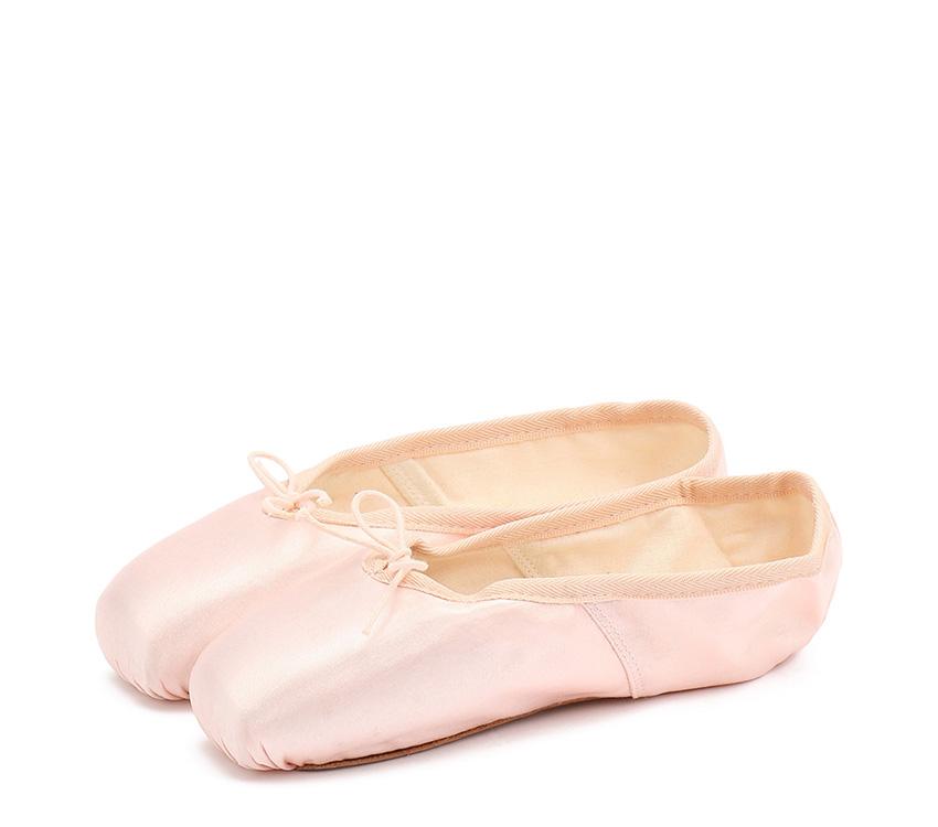 La Bayadere pointe shoes - Narrow box Medium sole - Salmon