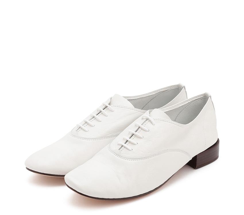Oxford shoe Zizi - White