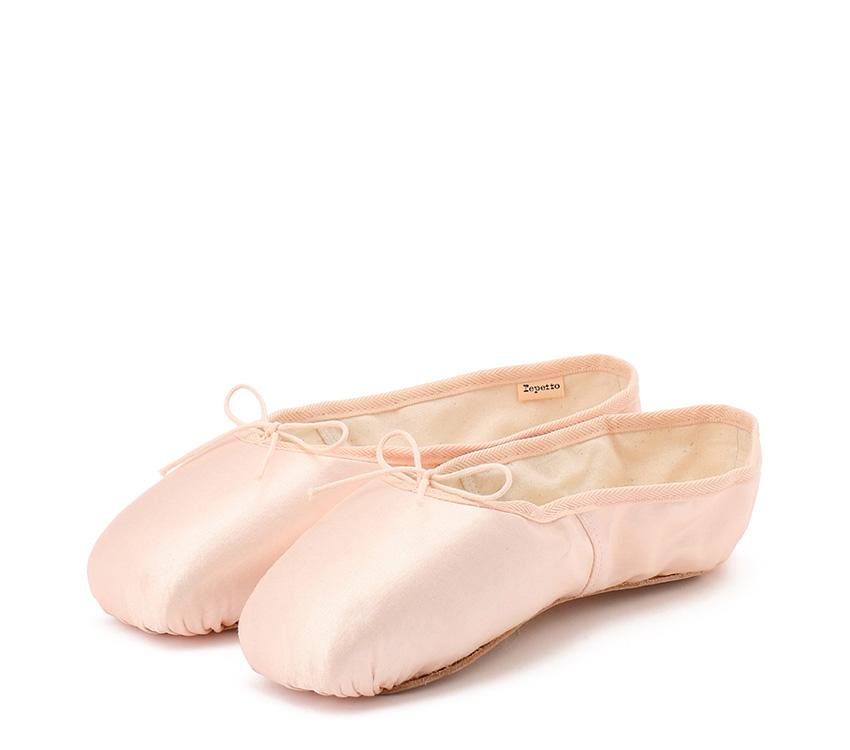 Julieta satin pointe shoes - Medium box Soft sole - Salmon