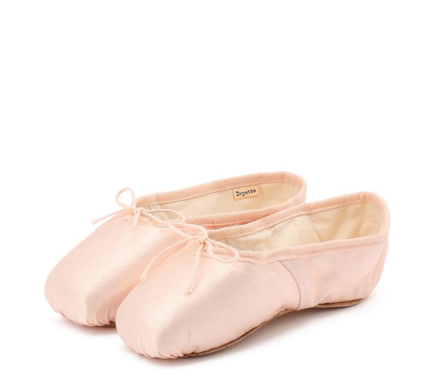 Julieta satin pointe shoes - NarrowBox Soft sole - Salmon
