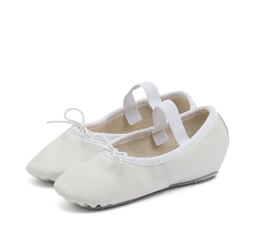 Soft ballet shoe full sole - White