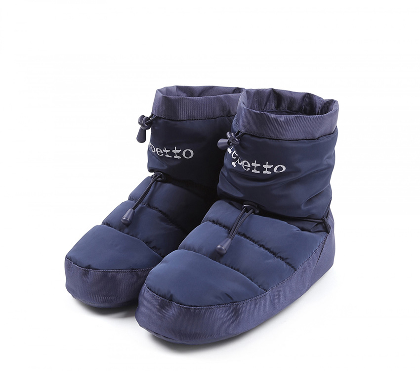 Warm up boots - Navy blue