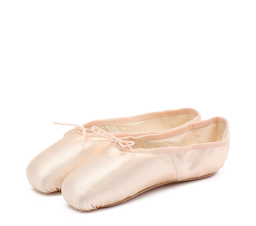 La Carlotta Pointe shoes - Narrow box Medium sole - Salmon melon