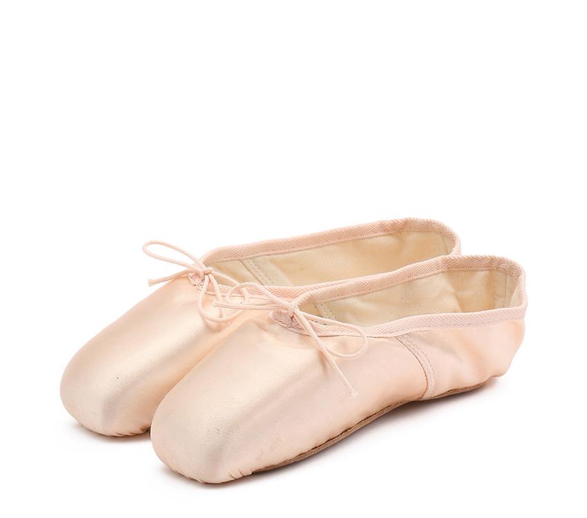 La Carlotta Pointe shoes - Narrow box Soft sole - Salmon melon
