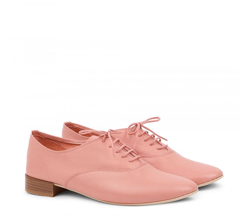 Charlotte Oxford Shoes【New Size】 - Eau de Rose