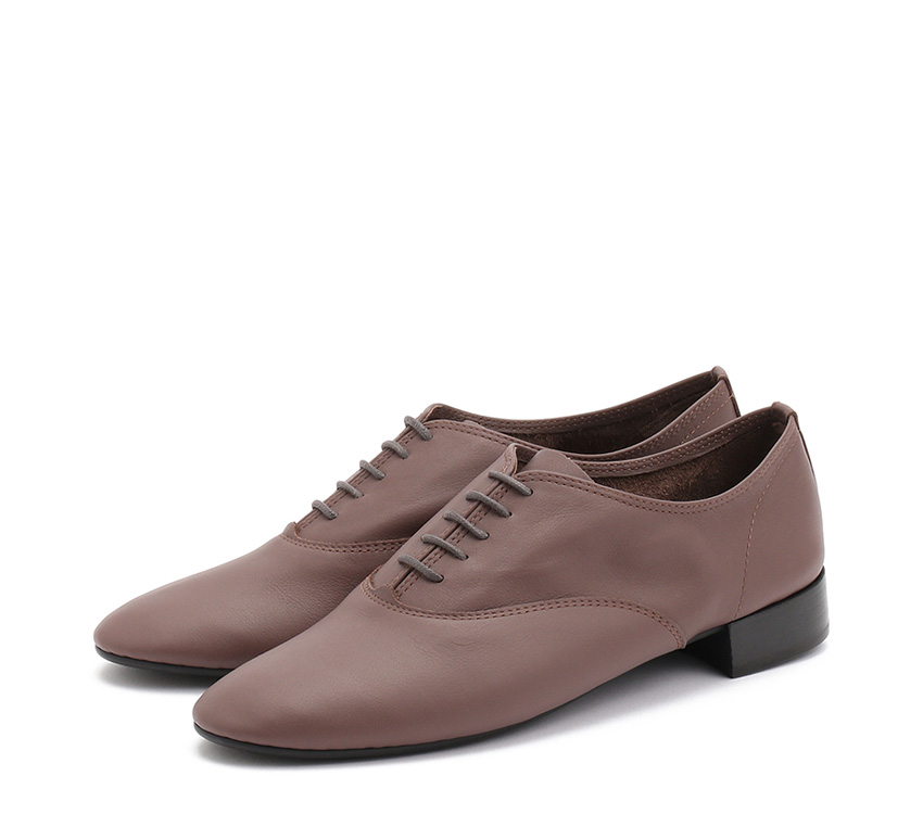 Charlotte Oxford Shoes【New Size】 - Castor