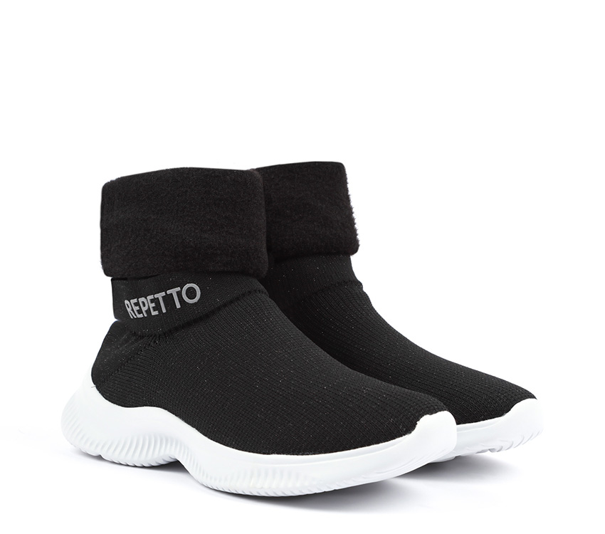 3D warm-up sneakers - Black