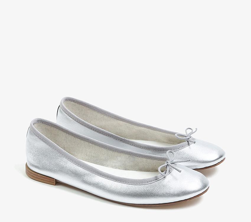 Cendrillon Ballerinas - Silver