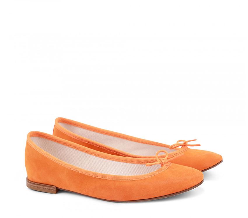Cendrillon Ballerinas【New Size】 - Orange