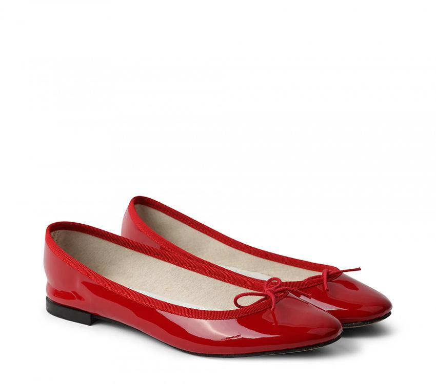 Cendrillon Ballerinas - Flammy red