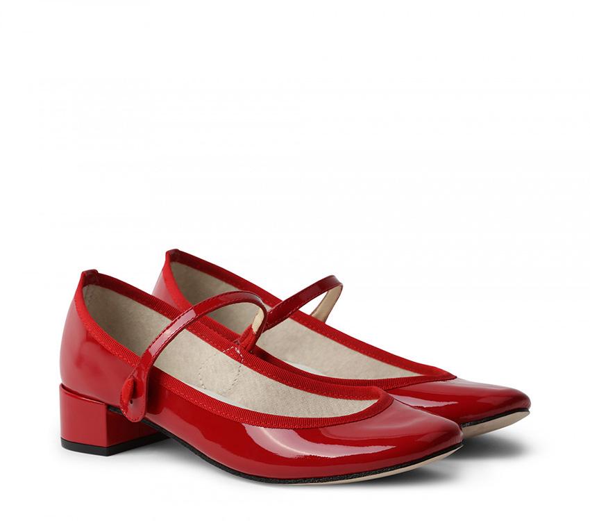Rose Mary-Jane - Flammy red