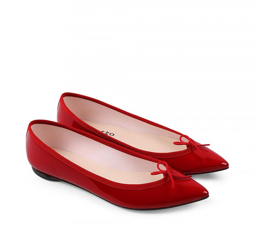 Brigitte Ballerinas - Flammy red
