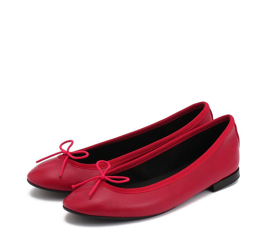 Lili Ballerinas【New Size】 - Flammy red