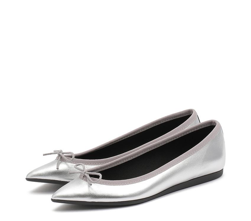 Junon Ballerinas - Silver