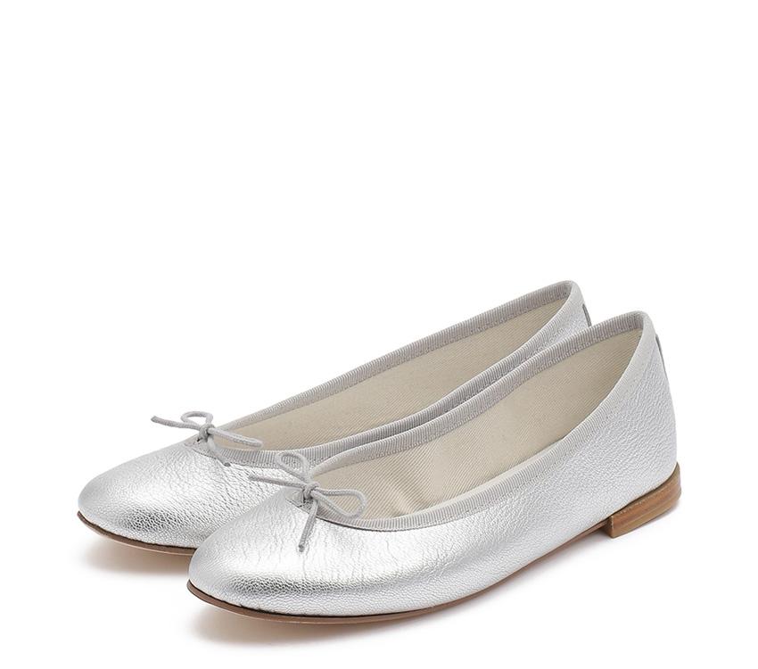 Cendrillon Haute Ballerinas - Silver