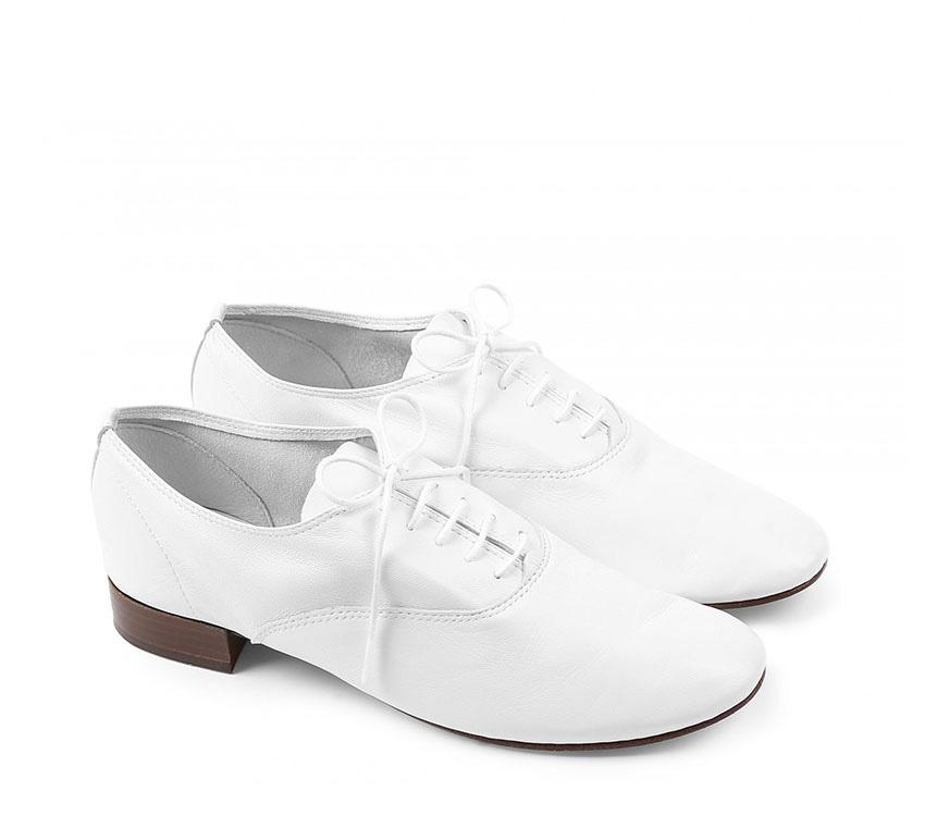 Zizi Oxford Shoes - White