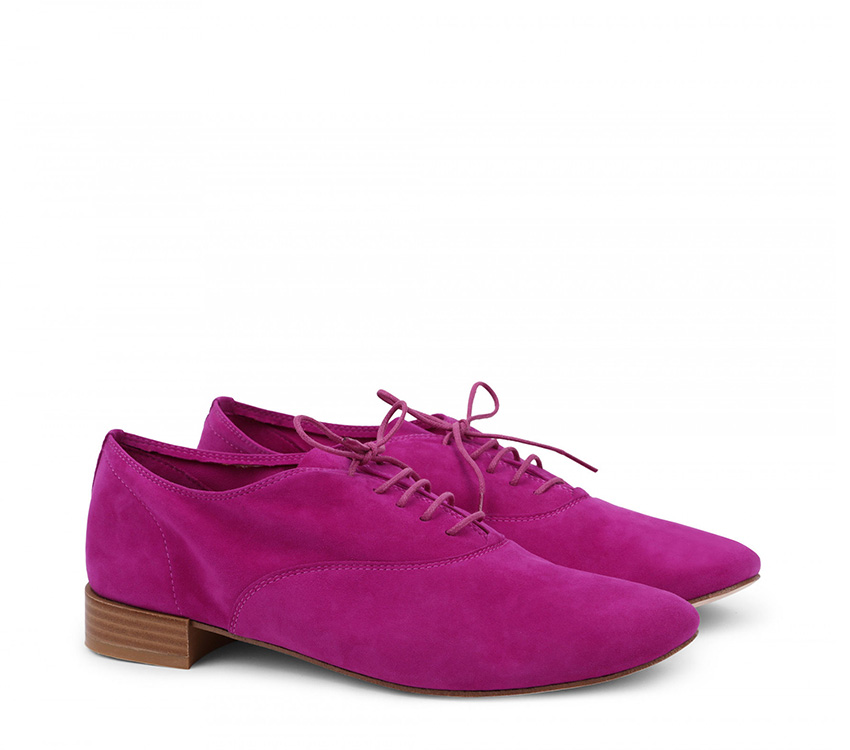 Zizi Oxford Shoes【New Size】 - Magenta