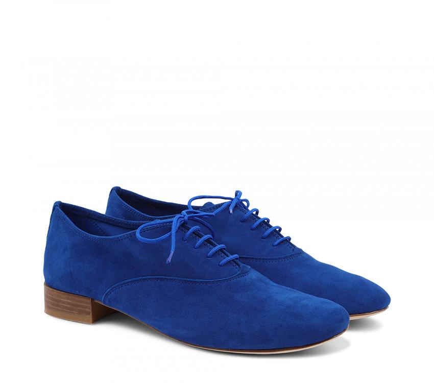 Zizi Oxford Shoes【New Size】 - Blue