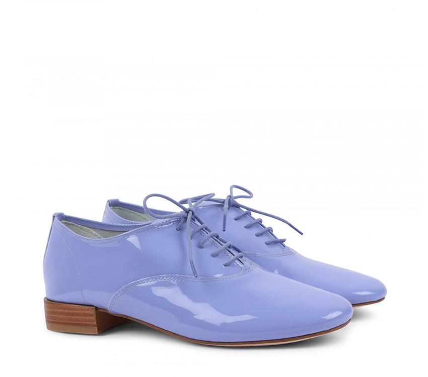 Zizi Oxford Shoes - Bougain Blue