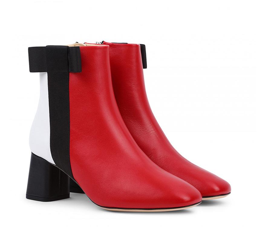 Soho boots - Noir Flamme Blanc