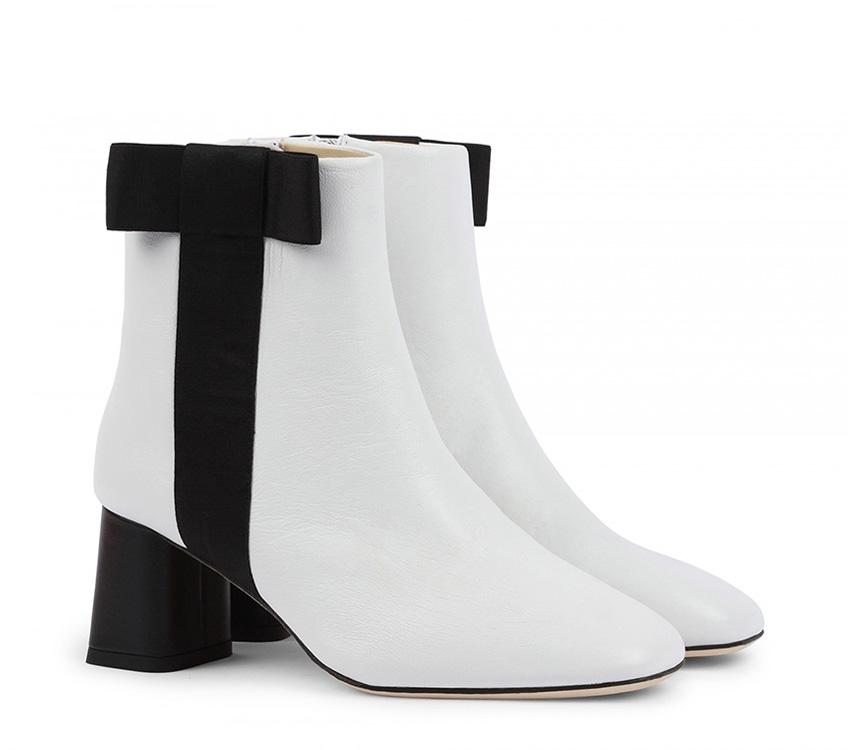 Soho boots - Black, White