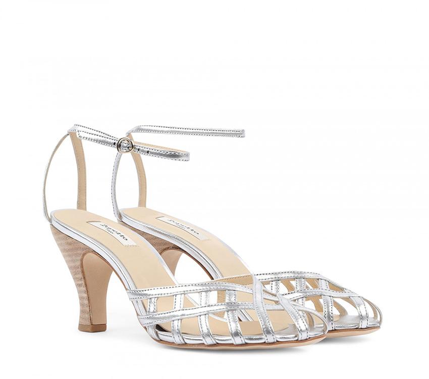 Salvador sandals - Silver