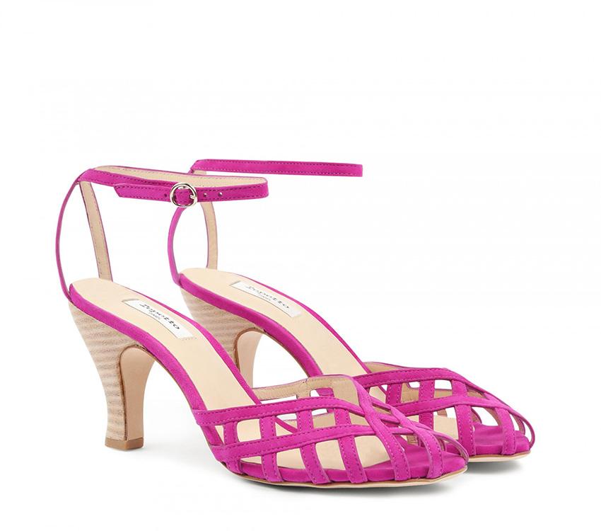 Salvador sandals - Magenta