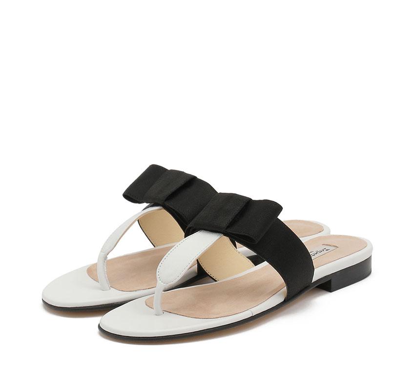 Sandales Sumatra - Black, White