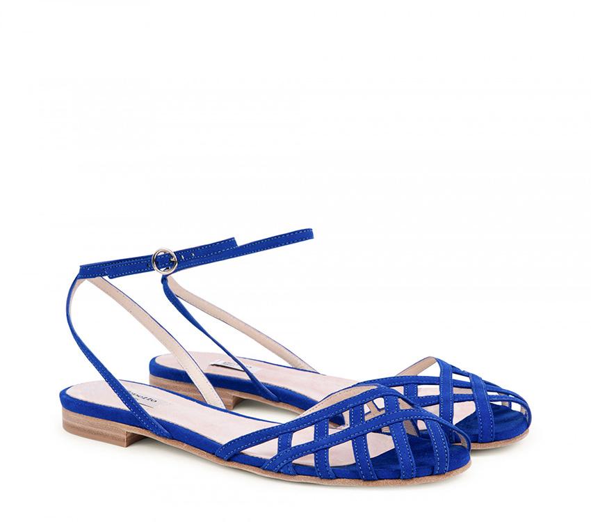 Santorin Sandales - Blue