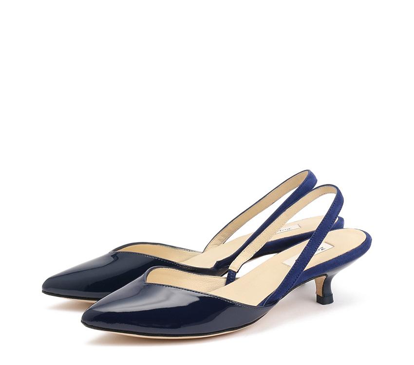 Slingback Sofie - Classic blue