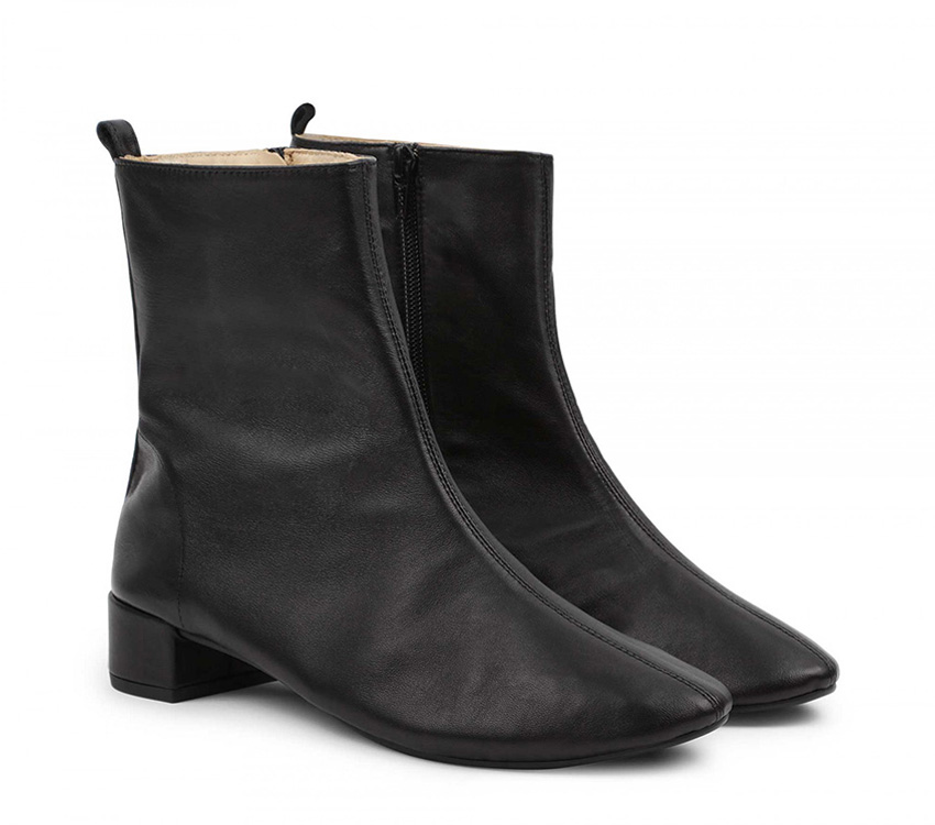 Siena boots【New Size】 - Black