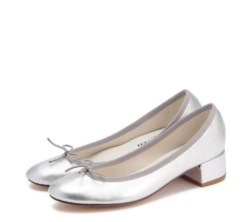Camille Ballerinas - Silver