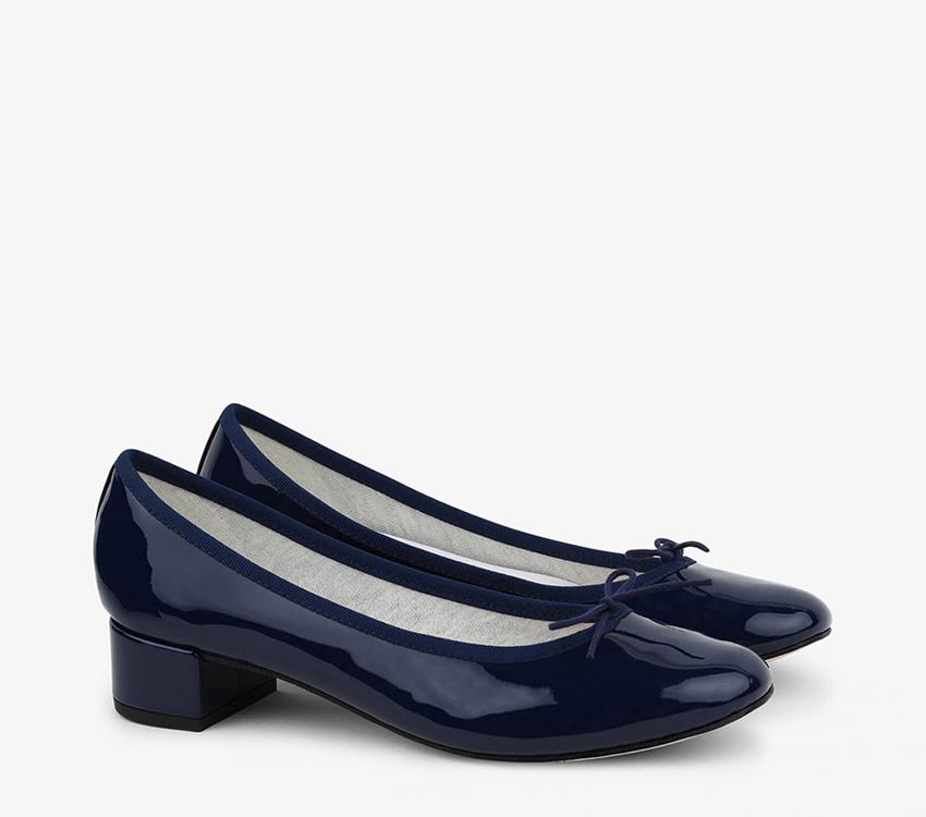 Camille Ballerinas - Classic blue
