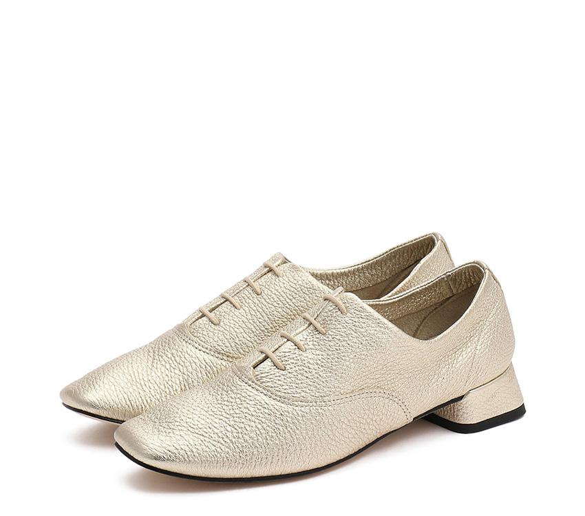 Mark Oxford Shoes - OrJaune