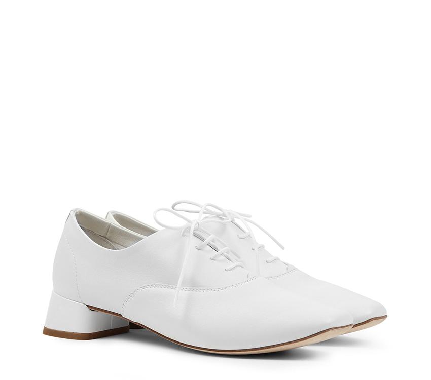 Mark Oxford Shoes - White