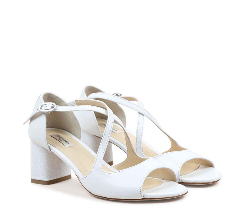 Nada Sandals - White
