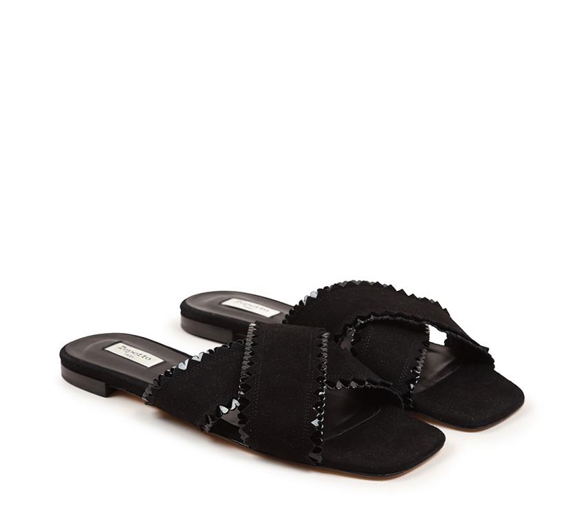 Poline sandals - Black