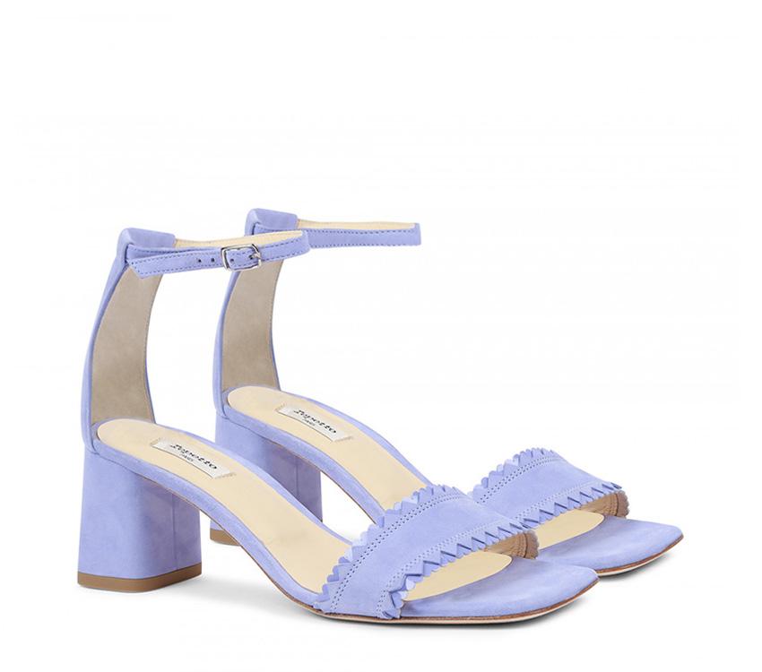 Pani Sandals - Bougain Blue