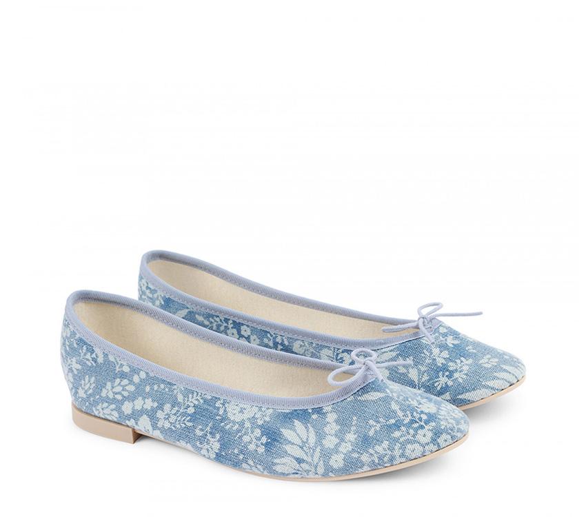 Lili Haute Ballerinas - Classic blue
