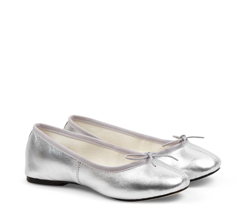 Ruby Ballerinas - Silver