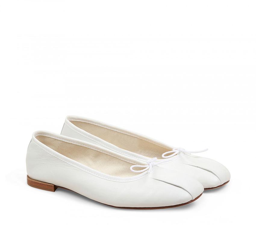 Remy Ballerinas - White