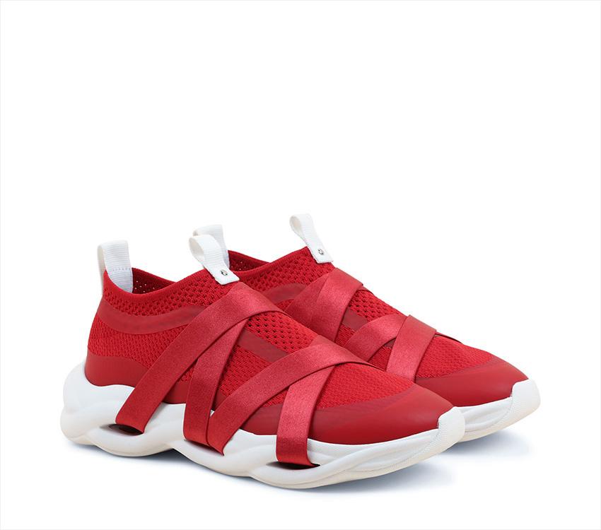 Sneakers Ruban - Flammy red