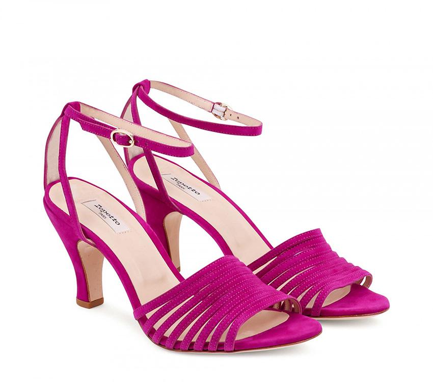 Rock sandals - Magenta