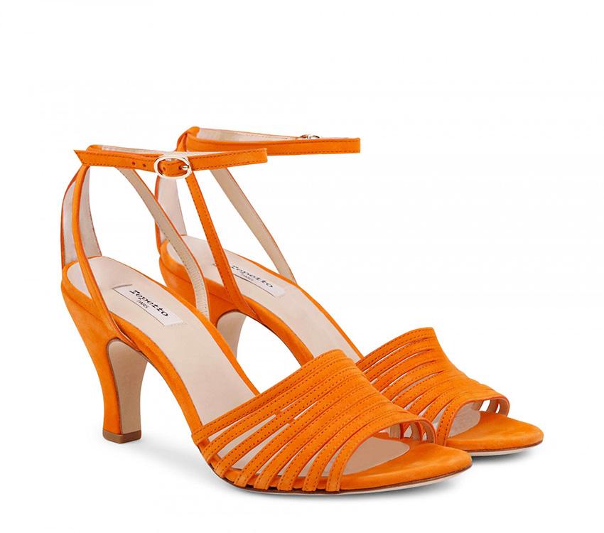 Rock sandals - Orange