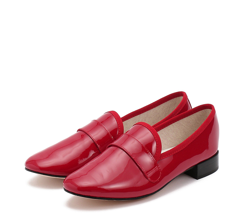 Michael Loafers【New Size】 - Flammy red